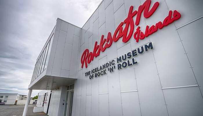 El museo de rock and roll islandés