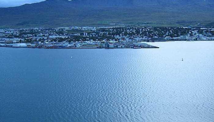 fiordo de Akureyri